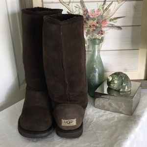 "UGG classic tall 12"" boots Sz 9"